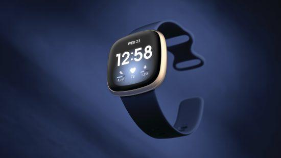Fitbit Versa 3. Imagen oficial del Kit de Prensa de Fitbit