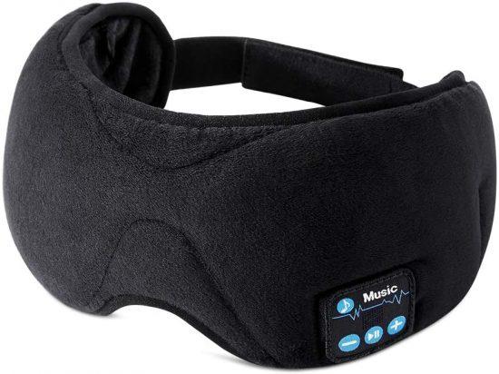 Antifaz para dormir con auriculares bluetooth. Antifaz de ejemplo del fabricante ESR