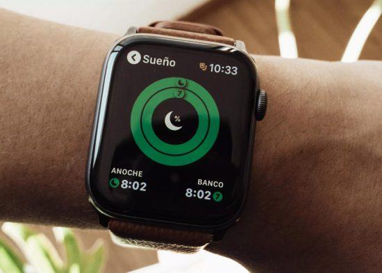 Funcion de control del sueño del Apple Watch. Foto por Óscar Gutiérrez para CNET https://www.cnet.com/es/noticias/apple-watch-series-2020-dormir/