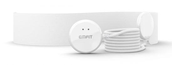 Emfit QS. Captura de la web del fabricante.