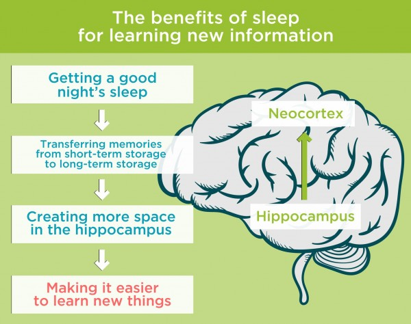 The benefits of sleep for learning new information. By Recharge Energy. CC BY-SA 4.0